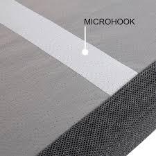 Microhook mattress retention system
