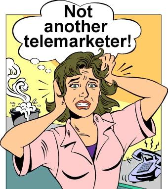 telemarketer promotion